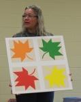 Denise Lloyd – Maple Leaves BarnQuilt