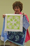 Ann Weaver – Faux Hawaiian Applique Stencil Technique