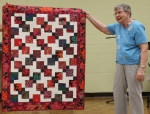 Bobby Badger – Disappearing Nine Patchquilt