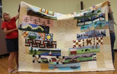 Victoria Person - Row by Row Quilt, bottom half