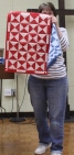 Cindy King - Red Miniature Quilt