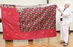 Judy Mc Whorter – Kantha blanket,front