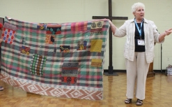 Judy Mc Whorter - Kantha blanket, back