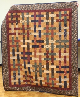 Cathy Russel - Weave In and Out Quilt