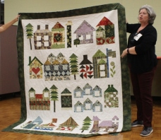 Dawn Schaben - Moda House Christmas Quilt