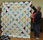Bonnie Scott – Curved Ruler Quilt (Original Design)