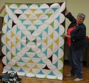 Bonnie Scott - Curved Ruler Quilt (Original Design)