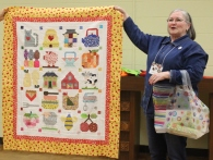 Gisela O'Connor - Vintage Farm Girl Quilt