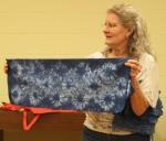 Nancy Oldham – Hand dyed indigoshibori
