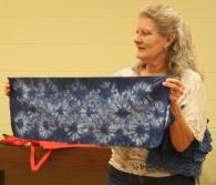Nancy Oldham - Hand dyed indigo shibori
