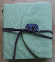 Kristin Farwig - Fabric covered travel journal - made at John C. Campbell Folk School
