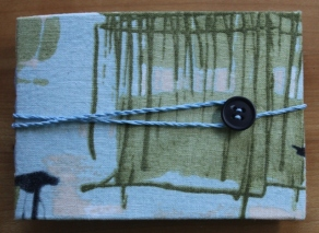 Kristin Farwig - Fabric covered needle book - made at John C. Campbell Folk School