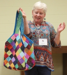 Becky Kea - Quilted Tote Bag