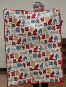 Judy Coffman - Comfort Quilt back