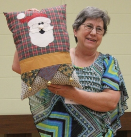 Ann Ware - Santa Pillow