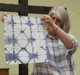 Donna Campbell -Indigo Dyed Shibori