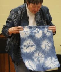 Susan Kraterfield - Indigo Dyed Shibori