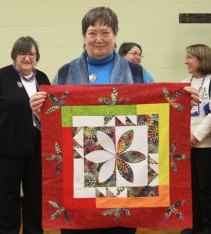 Linda Badger (quilt displayed by Susan Kraterfield)
