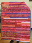 Bonnie Scott – Mission donation quilt (Jelly Roll Race or 1600 quilt)