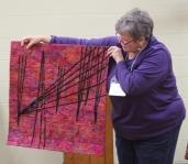 Bonnie Scott - NY Guild Challenge quilt