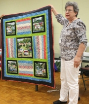 Ann Ware - Camping quilt