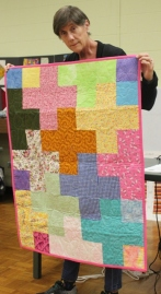 Vickie Kuhlman - 'Crosses' comfort quilt