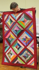 Vickie Kuhlman - String comfort quilt