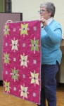 Bonnie Scott – Quilt made using Bonnie's hand dyedfabrics