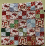 Patti Lively – Rag quilt