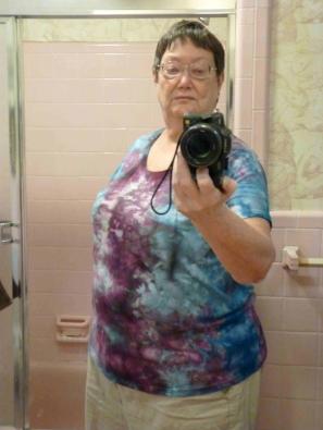 ice dye t shirt