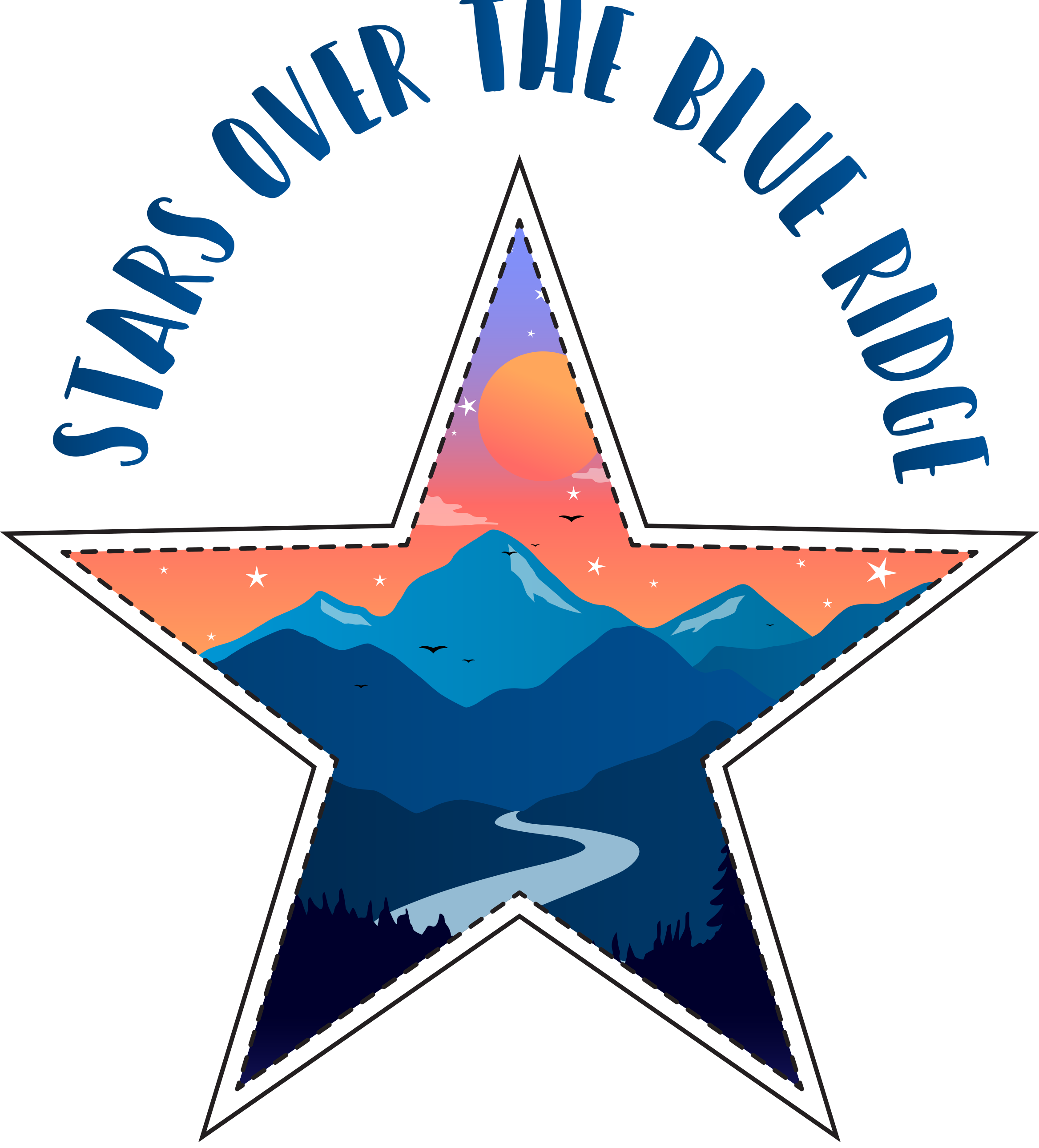 Stars over the Blue Ridge Final Logo